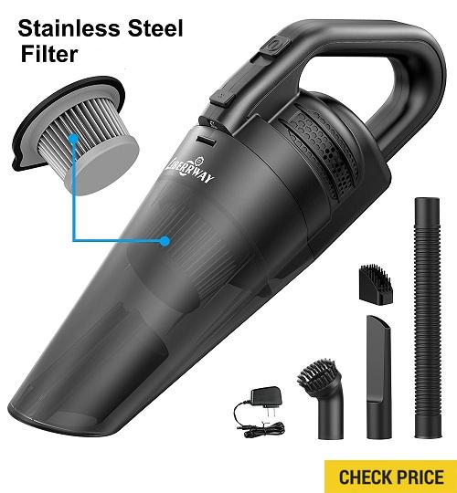 LIBERRWAY Cordless Wet/ Dry Vacuum