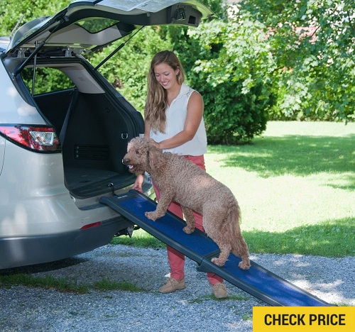 Pet Gear Travel Lite Bi-Fold Half Ramp for cats and dogs